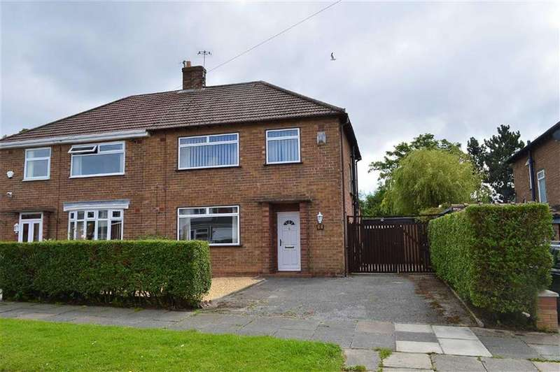 3 Bedrooms Semi Detached House for sale in Windermere Road, Noctorum, CH43