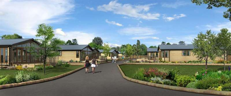 3 Bedrooms Lodge Character Property for sale in Ashby Woulds Lodges, Overseal, Swadlincote