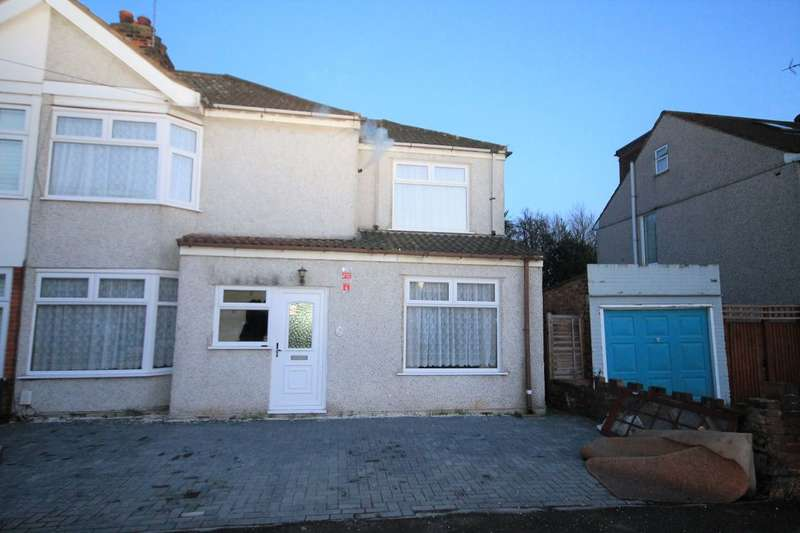 3 Bedrooms Semi Detached House for sale in Manser Road, Rainham, RM13