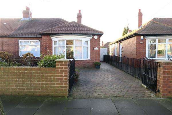 2 Bedrooms Bungalow for sale in Central Avenue, South Shields