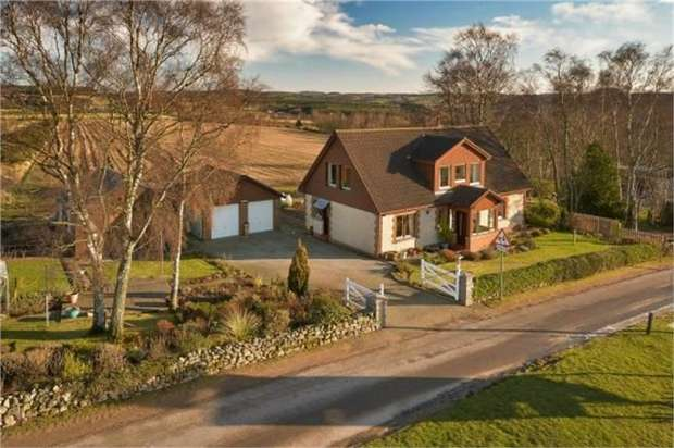 4 Bedrooms Detached House for sale in Drumoak, Drumoak, Banchory, Aberdeenshire