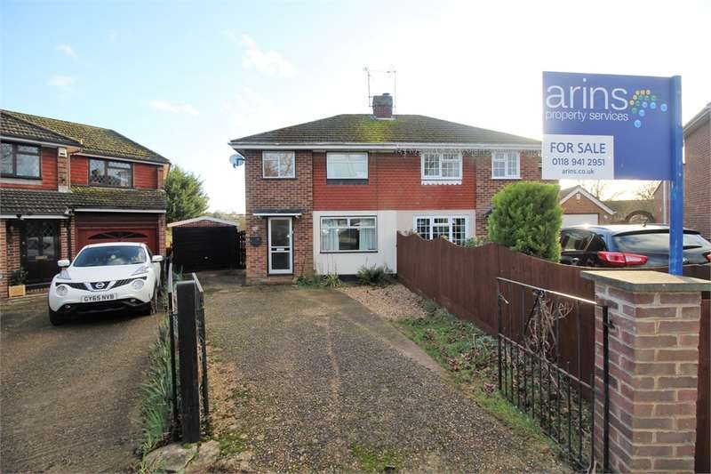 3 Bedrooms Semi Detached House for sale in Skilton Road, Tilehurst, READING, Berkshire