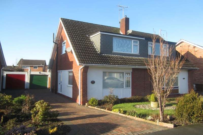 3 Bedrooms Semi Detached House for sale in Oak Tree Drive, Crewe, CW1