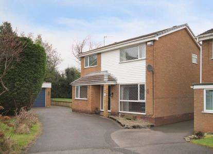 4 Bedrooms Detached House for sale in Beeston Close, Dronfield Woodhouse, Dronfield, Derbyshire