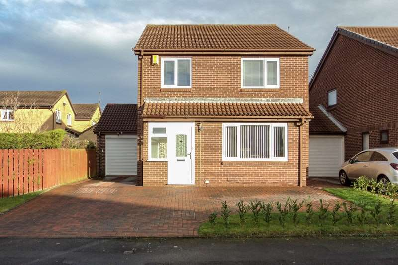 4 Bedrooms Detached House for sale in Cheldon Close, Whitley Bay, Tyne and Wear, NE25
