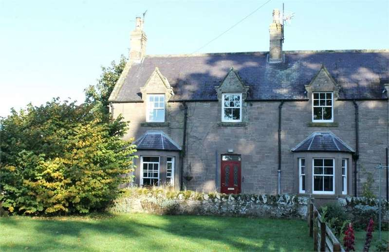 2 Bedrooms Semi Detached House for sale in 1 Swinton Hill Farm Cottage, Swinton, Berwickshire, Scottish Borders
