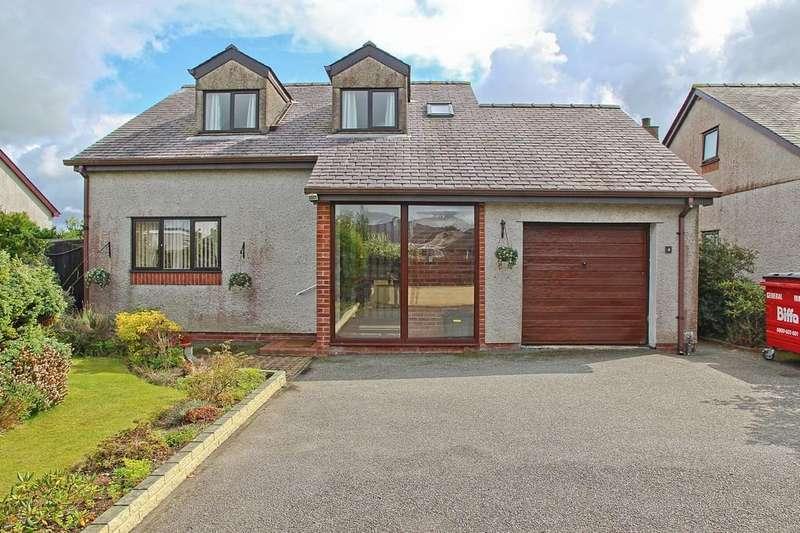 4 Bedrooms Detached Bungalow for sale in Llys Y Rhos, Rhostrehwfa, North Wales