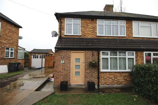 3 Bedrooms Semi Detached House for sale in Harries Court, Waltham Abbey, Essex