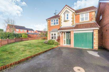 4 Bedrooms Detached House for sale in Hornsby Avenue, Warndon Villages, Worcester, Worcestershire