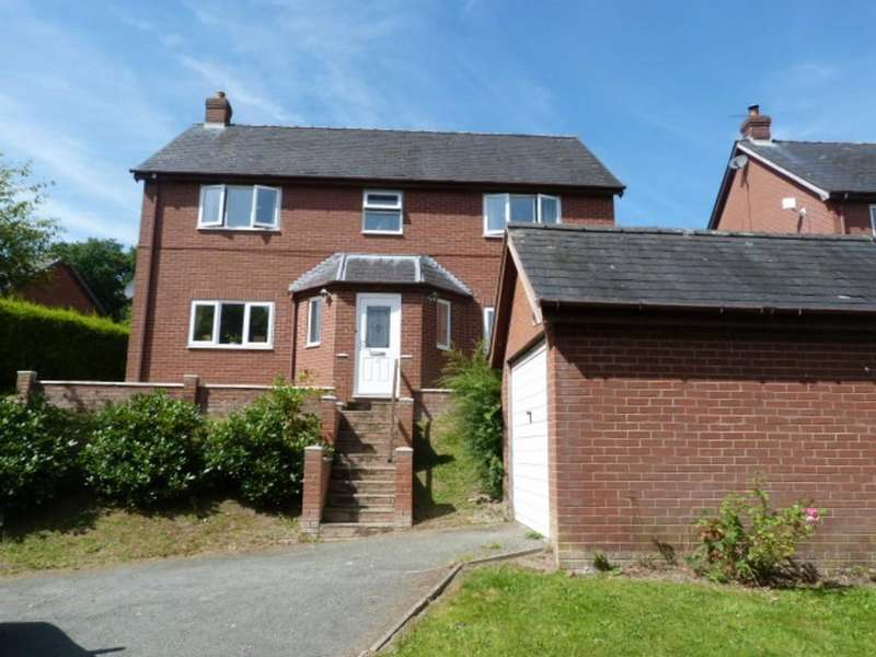 4 Bedrooms Detached House for sale in 2 Glan Y Nant, Aberhafesp, Newtown
