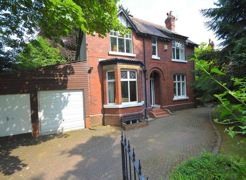 4 Bedrooms Detached House for sale in Old Hall Road, Gatley