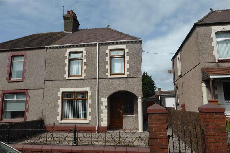 2 Bedrooms Semi Detached House for sale in 3 Rhanallt Street, Maragm, Port Talbot