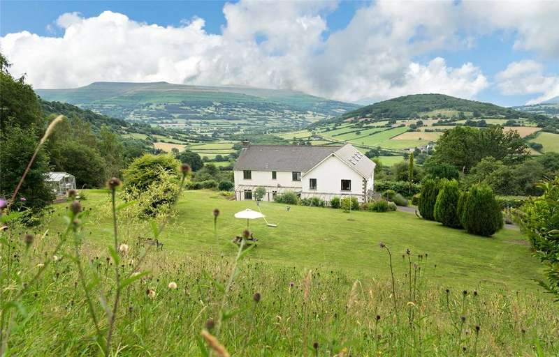 7 Bedrooms Detached House for sale in Bwlch, Brecon, Powys