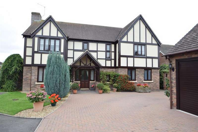 4 Bedrooms Detached House for sale in Oakwood, 6 Manor Farm, Uffington, SY4 4SG