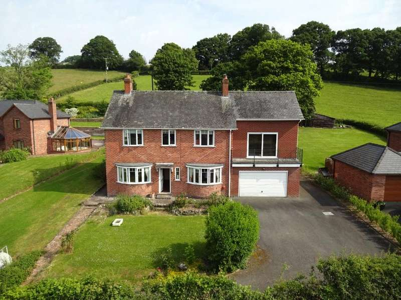 4 Bedrooms Detached House for sale in Bettws Cedewain, Newtown, Powys