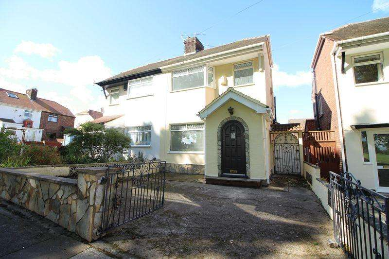 3 Bedrooms Semi Detached House for sale in Shorebank, New Ferry