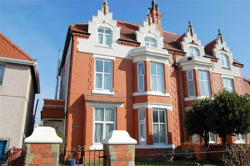 6 Bedrooms Semi Detached House for sale in Carmen Sylva Road, Craig Y Don, Llandudno, Conwy