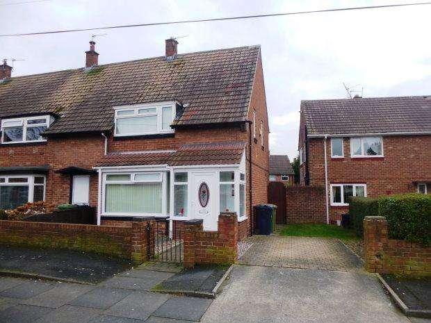 3 Bedrooms Semi Detached House for sale in CLOVELLY ROAD, HYLTON CASTLE, SUNDERLAND NORTH