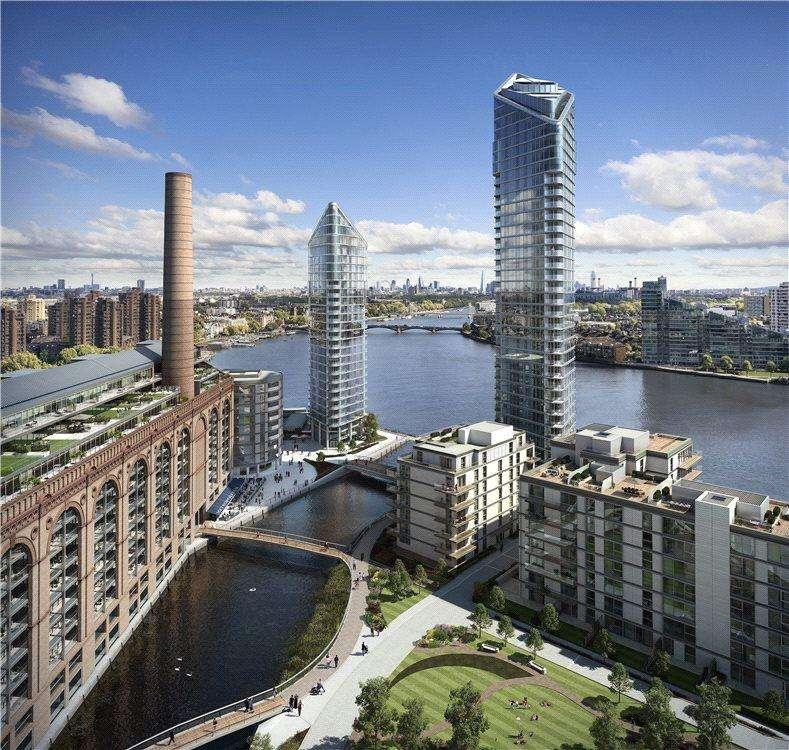 5 Bedrooms Flat for sale in Chelsea Waterfront, Lots Road, Chelsea, London, SW10