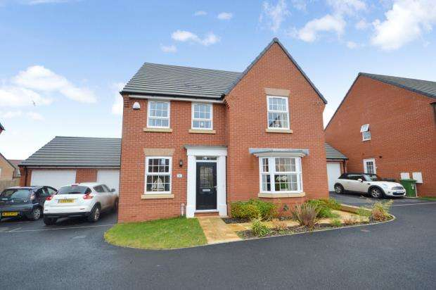 4 Bedrooms Detached House for sale in Cranbrook Walk, Rougemont Park, Exeter, Devon