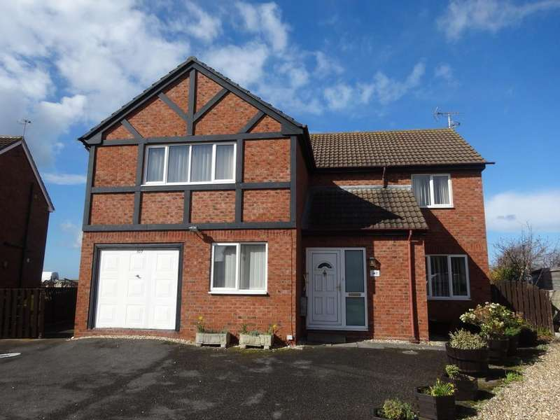 4 Bedrooms Detached House for sale in Min Y Don, Abergele
