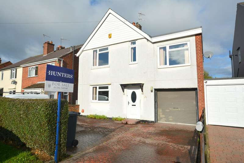 4 Bedrooms Detached House for sale in 193 Hunloke Avenue, Walton, Chesterfield, S40 3EA