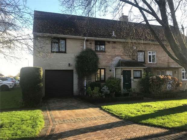 4 Bedrooms Semi Detached House for sale in Hillcrest, Colerne, Chippenham, Wiltshire