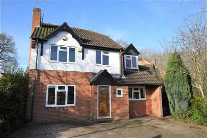 4 Bedrooms Detached House for sale in Horseshoe Crescent, Burghfield Common, Reading