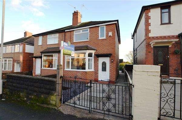 2 Bedrooms Semi Detached House for sale in Ellison Street, Wolstanton, Newcastle