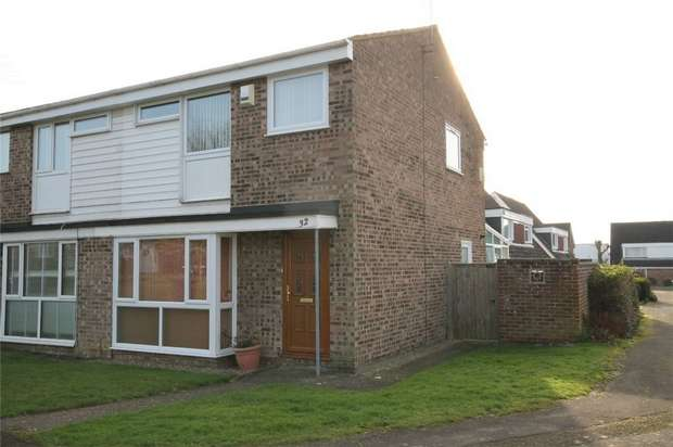 3 Bedrooms Semi Detached House for sale in Lincroft, Oakley, Bedford