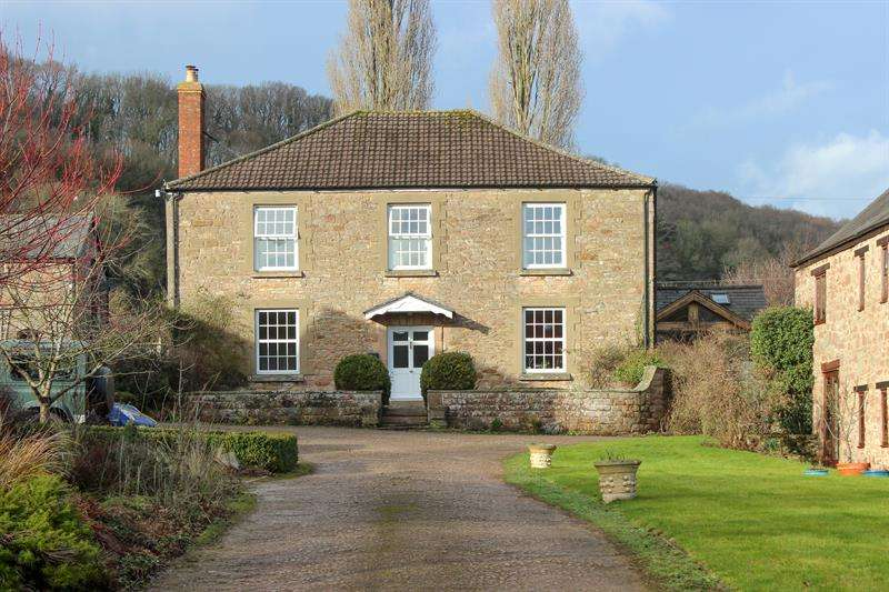 5 Bedrooms Country House Character Property for sale in Hope Mansell, Ross-On-Wye