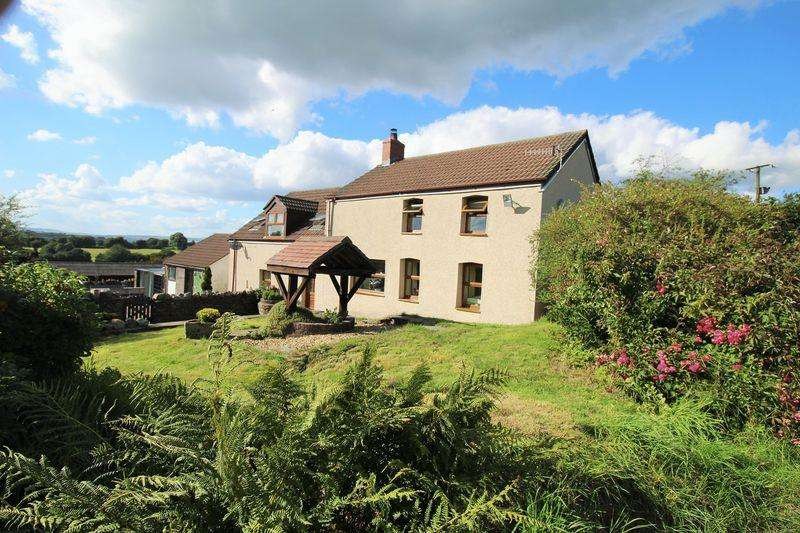 5 Bedrooms Detached House for sale in Ty'r Waen Farm, Mynyddislwyn, Newport, Caerphilly