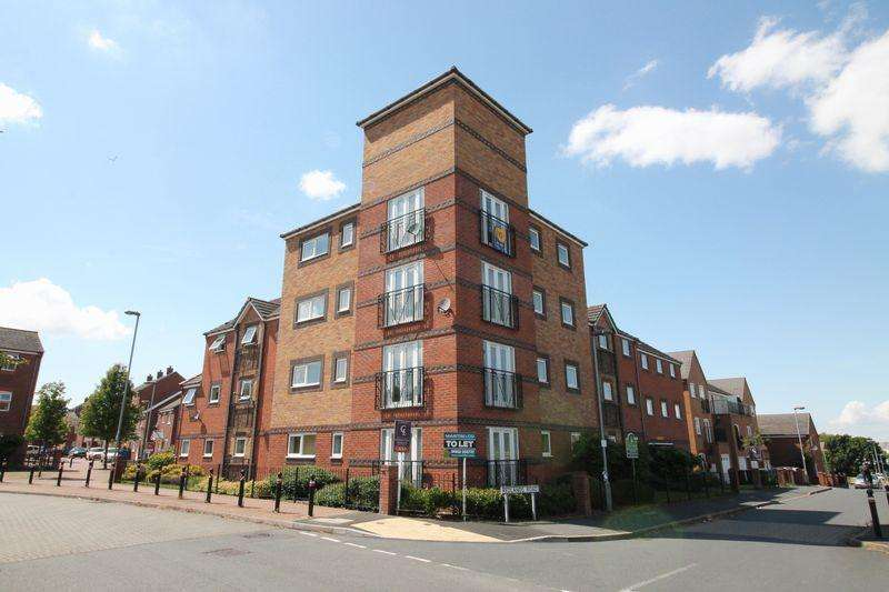 2 Bedrooms Apartment Flat for sale in Redlands Road, Hadley, Telford