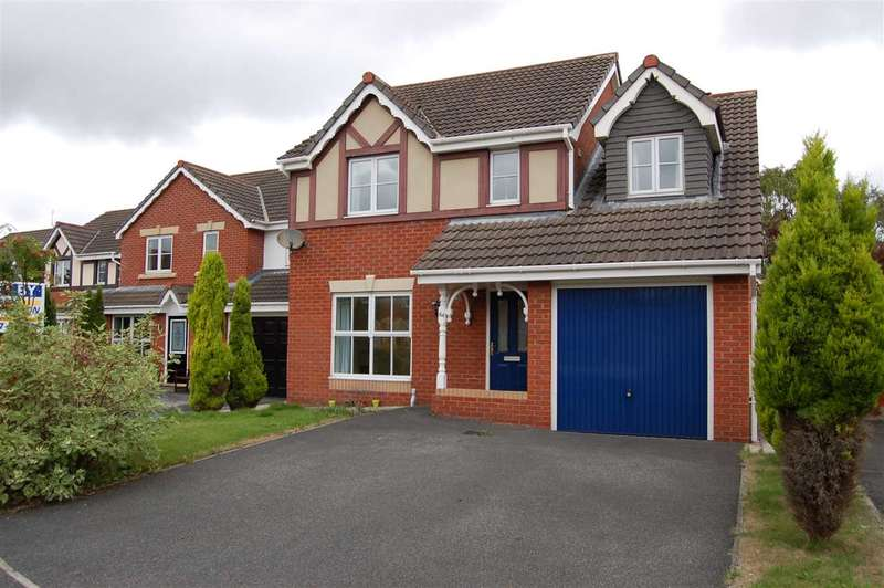 4 Bedrooms Detached House for rent in Mile Stone Meadow, Euxton, Chorley