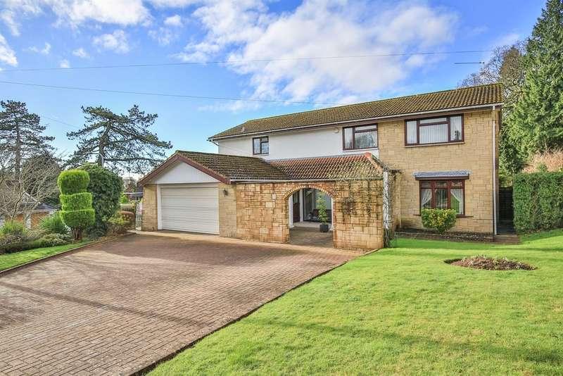 4 Bedrooms Detached House for sale in Coedydafarn, Lisvane, Cardiff