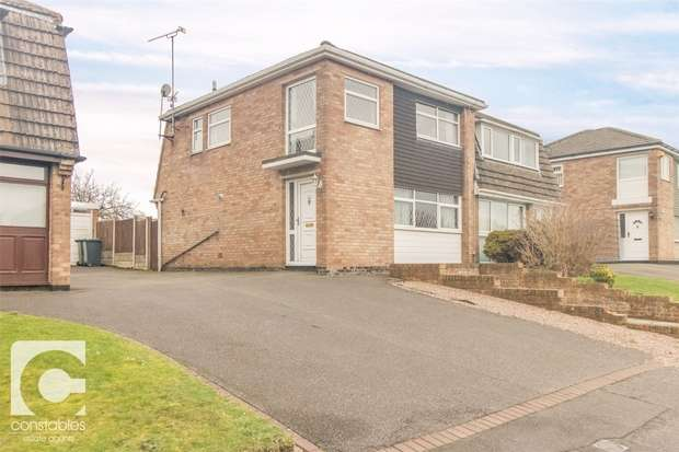 3 Bedrooms Semi Detached House for sale in Hampton Crescent, Neston, Cheshire