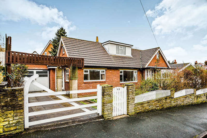 4 Bedrooms Detached Bungalow for rent in North Cross Road, Cowcliffe, Huddersfield, HD2