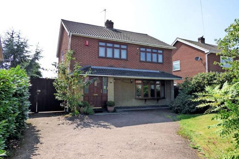 4 Bedrooms Detached House for sale in Church Street, Coton-in-the-Elms