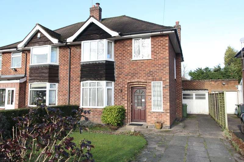 3 Bedrooms Semi Detached House for sale in Fabian Crescent, Shirley, Solihull