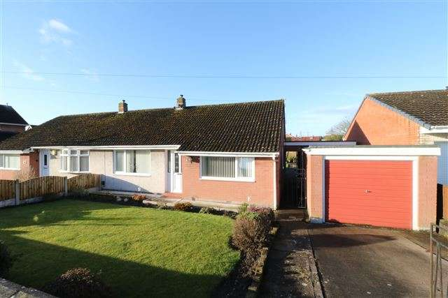 3 Bedrooms Semi Detached Bungalow for sale in Acredale Road, Carlisle, Cumbria, CA2 7QT