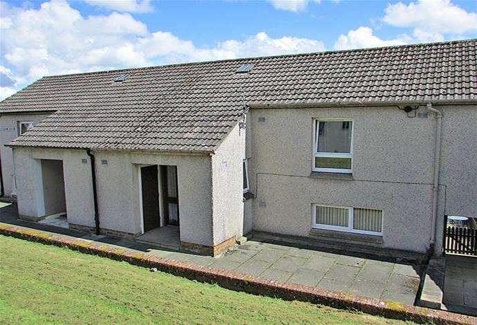 3 Bedrooms Terraced House for sale in 91 Rosebank Road, Hawick, TD9 0DQ