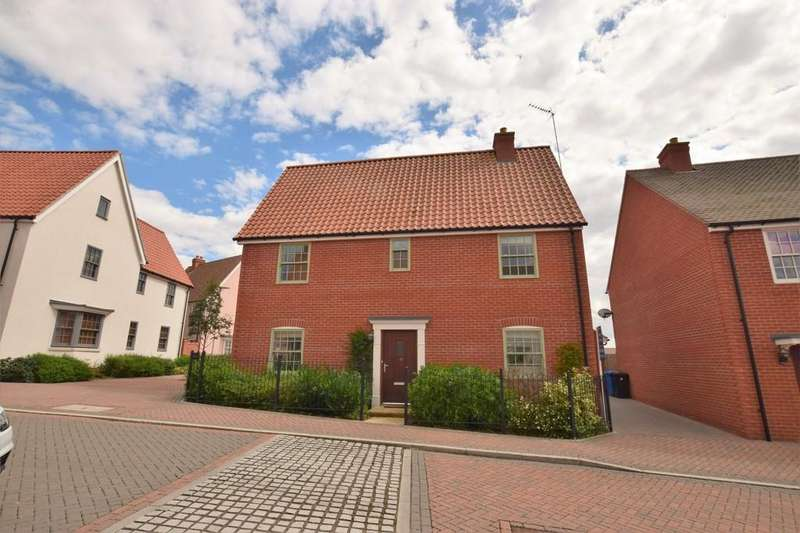 4 Bedrooms Detached House for sale in Pikes Marsh, Bures CO8 5AQ