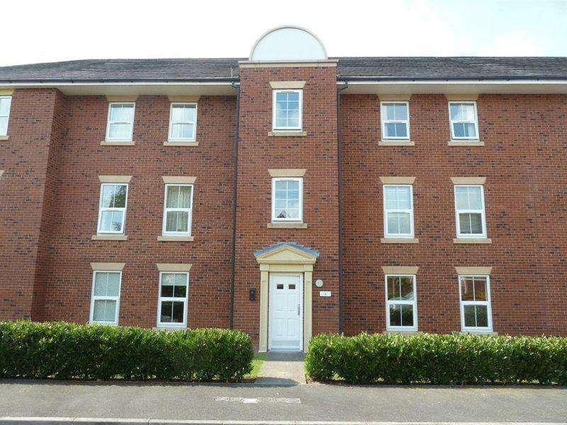 2 Bedrooms Apartment Flat for sale in Lambert Crescent, Nantwich