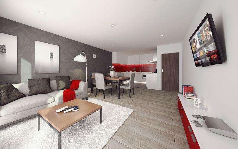 Studio Flat for sale in Salisbury Place, Liverpool, L3
