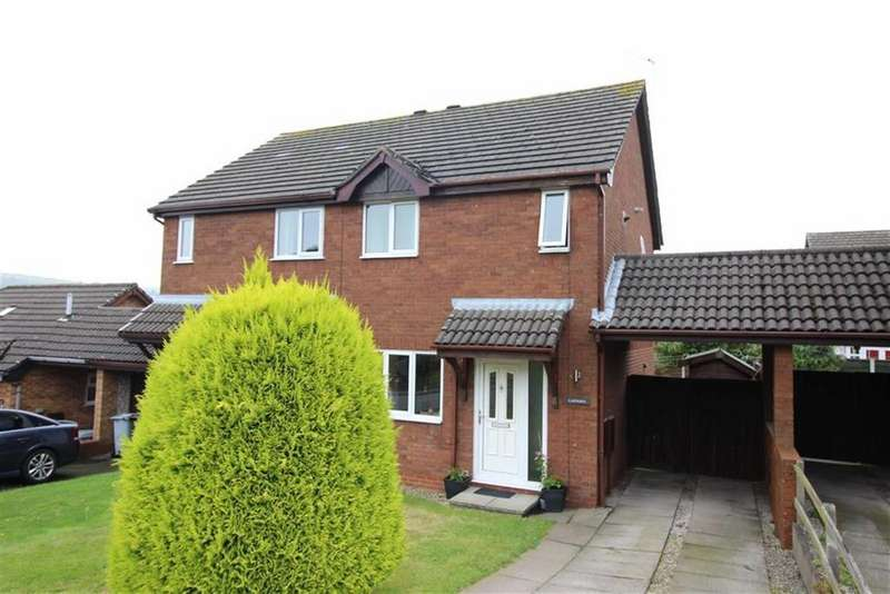 3 Bedrooms Semi Detached House for rent in Peveril Gardens, Newtown, Stockport, Cheshire
