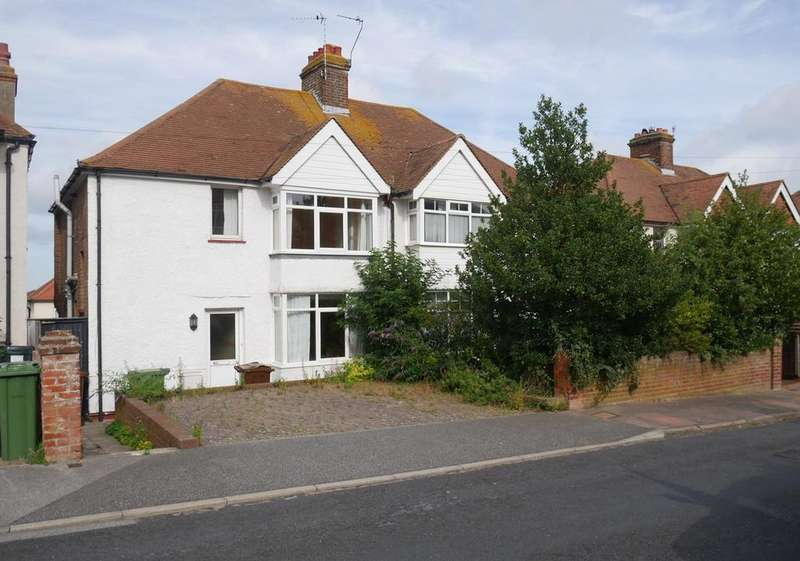3 Bedrooms Semi Detached House for sale in Crunden Road, Old Town, Eastbourne, BN20