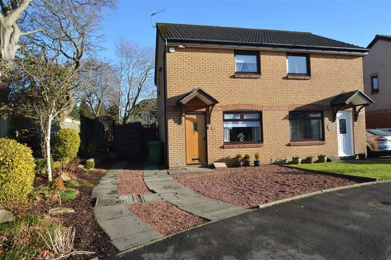 2 Bedrooms Semi Detached House for sale in Overton Avenue, Strathaven