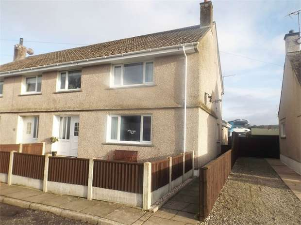 3 Bedrooms Semi Detached House for sale in Dryfebridge, Lockerbie, Dumfries and Galloway