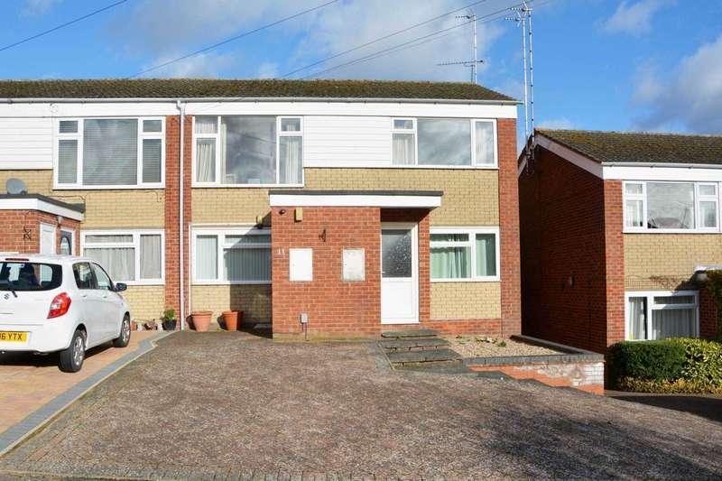 2 Bedrooms Maisonette Flat for sale in Cowan Close, Bilton