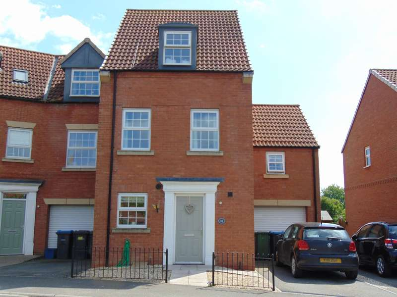 4 Bedrooms Semi Detached House for sale in Prospect Avenue, Easingwold, York, YO61 3GF